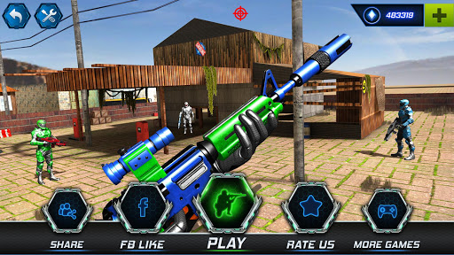 FPS Robot Shooter Strike: Anti-Terrorist Shooting apkpoly screenshots 9