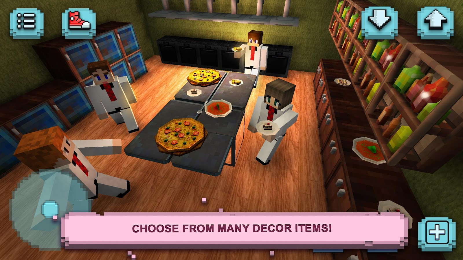Restaurant Craft: Design Fever- screenshot
