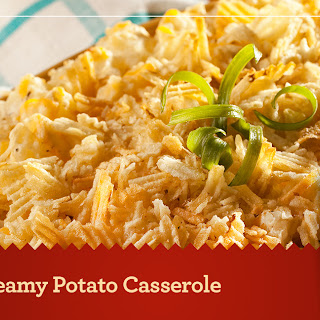 Creamy Potato Casserole.