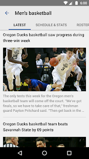 Oregon Duck Sports- screenshot thumbnail
