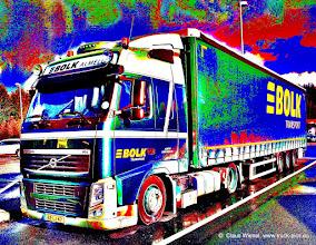 """Photo: """"Tiefer gelegter""""  FH aus Almelo (NL)in Pop Art :-)"""