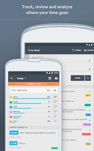Time Meter Time Sheet- screenshot thumbnail