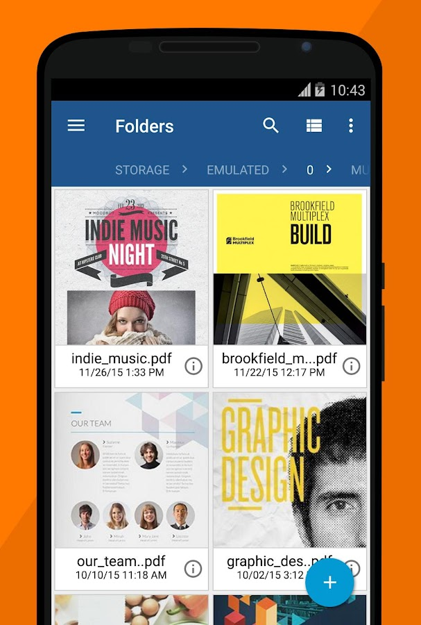 Xodo PDF Reader: screenshot