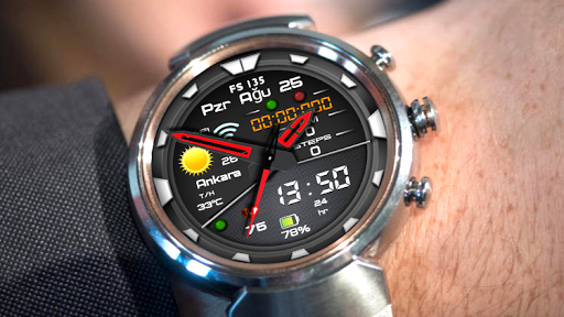 FS 135 Digital Watch Face For WatchMaker Users  screenshots 1