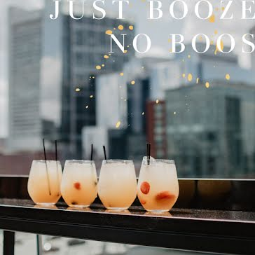 Just Booze No Boos - Halloween Template