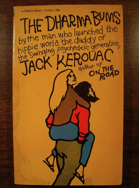 dharma bums cover kerouac