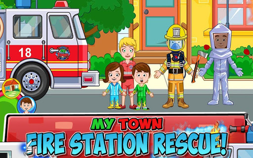 My Town : Fire station Rescue  screenshots 1