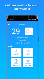 Download Temperature Today For PC Windows and Mac apk screenshot 2
