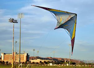 Photo: A team kite, but quite touchy.