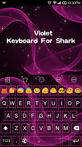 Lovely Violet-Emoji Theme