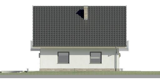 Dom przy Oliwkowej N - Elewacja lewa