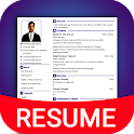 Resume Builder App Free CV maker CV templates 2021 icon