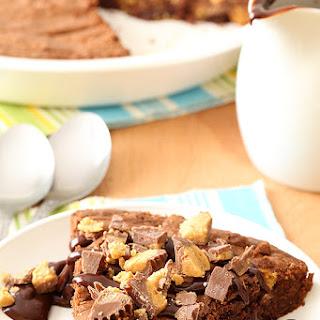 Peanut Butter Cup Brownie Pie Recipe