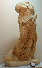 Photo: Fortuna afkomstig van het Oude Forum van Leptis Magna