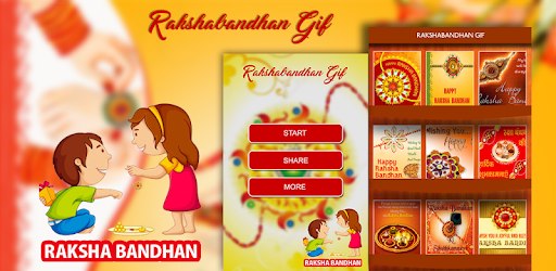 Rakhi GIF Collection 2017 - Rakshabhandhan GIF app (apk) free download for Android/PC/Windows screenshot