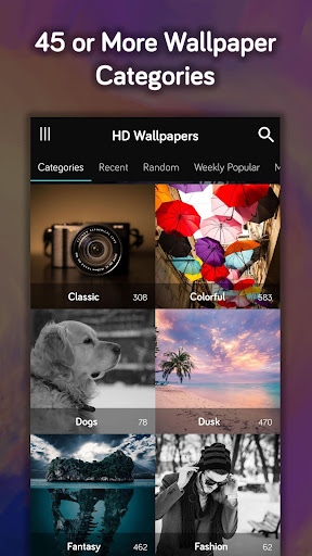 HD Wallpapers (Backgrounds) 1.5.5 screenshots 2