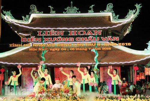 Du lịch Hà Nam phát huy giá trị di sản văn hóa