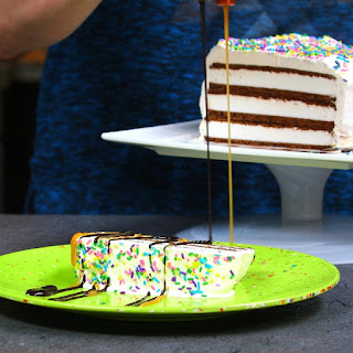 Ice Cream Sandwich Cake is the Easiest Cake You'll Ever Make