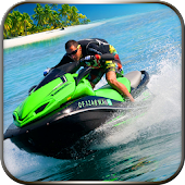 Water Power Boat Racing 3D: Jet Ski Speed Stunts