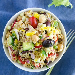 Mediterranean Cracked Wheat Salad
