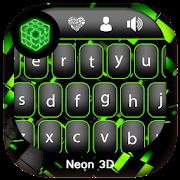 Neon 3D Keyboard