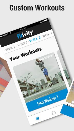 Basketball Bodyweight Exercise 8.0.2 screenshots 2