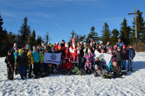 nasza grupa na szczycie Leskowca
