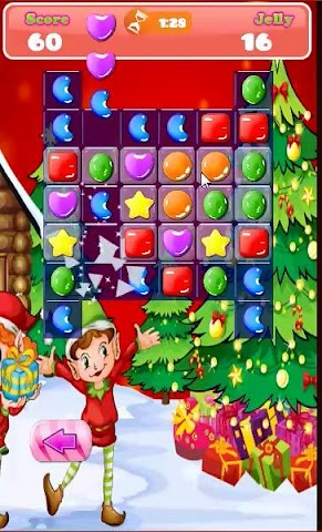 android Candy Match Hero: Xmas Session Screenshot 1