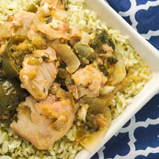 Slow Cooker Chicken in Chili Verde