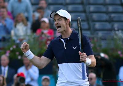 🎥 Andy Murray n'a pas manqué son retour