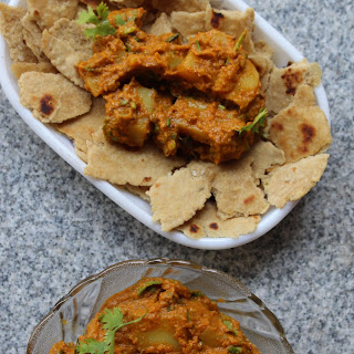 Ginger Potato Peanut Masala