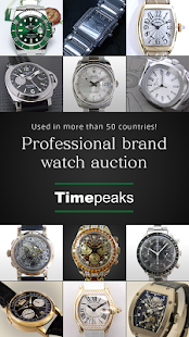 TIMEPEAKS Luxury Pre-owned Watch Auction- screenshot thumbnail