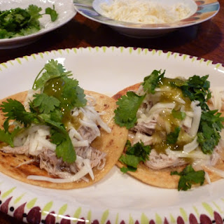 Grand T's Shredded Chicken Tacos.