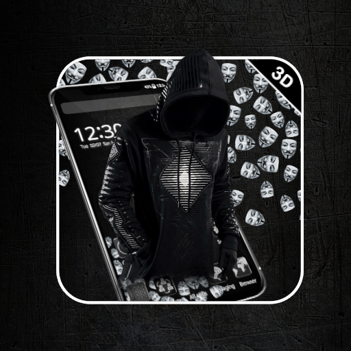 Secret Black Hacker Gravity Theme Android APK Download Free By New Theme Palace