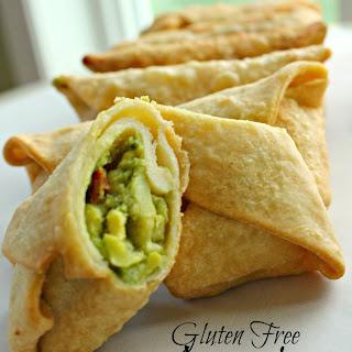 Gluten Free Avocado Egg Rolls