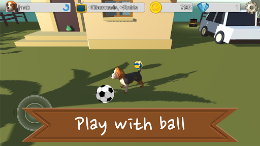 Lovely Beagle Dog Game android2mod screenshots 7