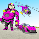 Panda Robot Helicopter Transform Battle Games for PC-Windows 7,8,10 and Mac