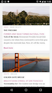 San Francisco City Guide- screenshot thumbnail