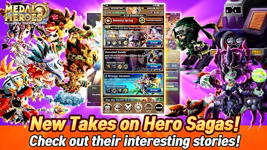 Medal Heroes : Return of the Summoners Mod Apk Download For Android and Iphone 6