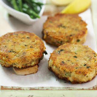 Tuna and Zucchini Patties.