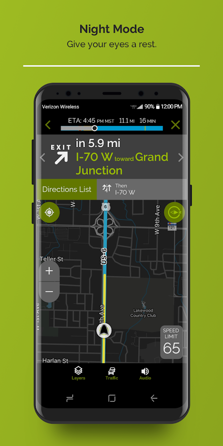 mapquest gps navigation maps android apps on google play. Black Bedroom Furniture Sets. Home Design Ideas