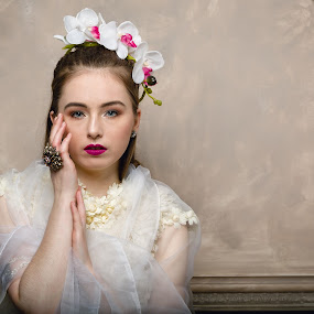 Spring by Plamen Stanchev - People Portraits of Women ( love, model, sexy, london, female, white, light )