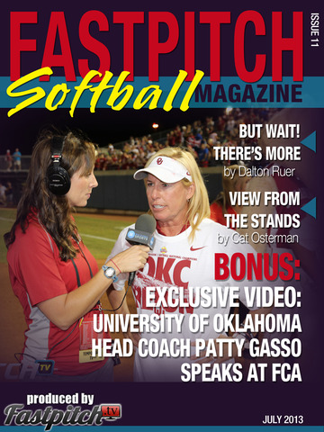 Fastpitch Softball Magazine issue 11 Cover