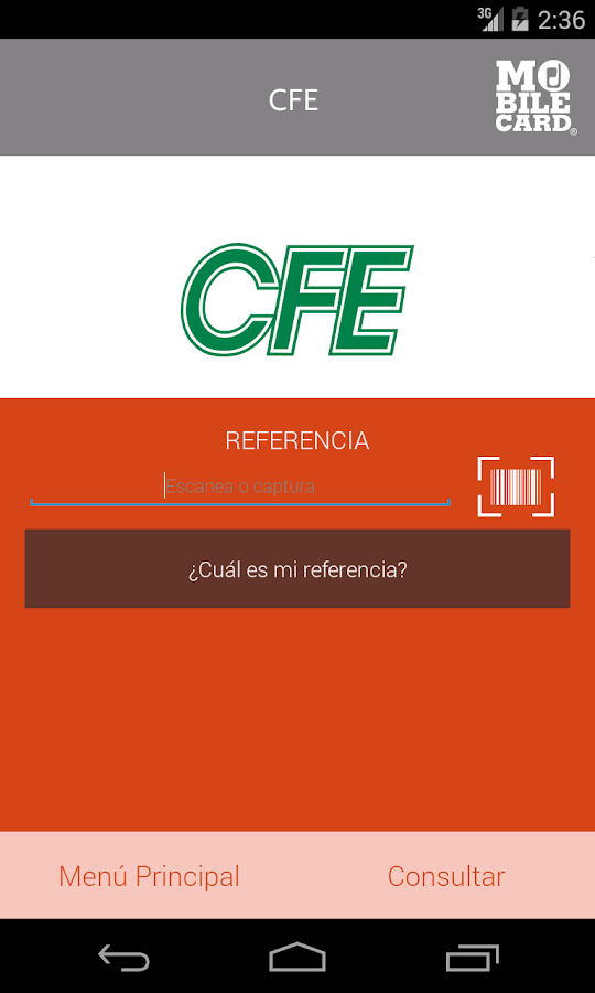 MobileCard - screenshot