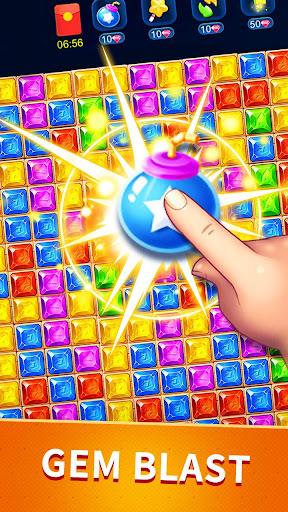 Télécharger Gratuit Star pop blast—Magic Gems Match Puzzle APK MOD (Astuce) screenshots 3