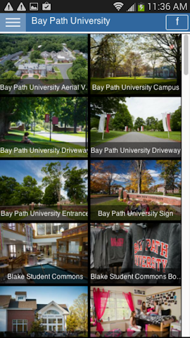 android Tour Bay Path University Screenshot 2
