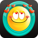 Cute Emoji Smiley Stickers icon