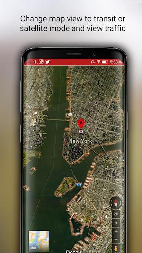 Free-GPS, Maps, Navigation, Directions and Traffic 1.9 screenshots 6