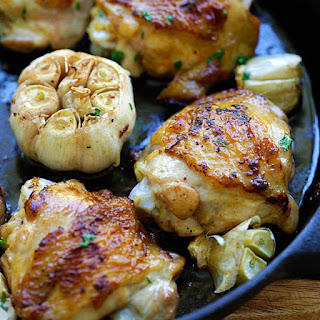Garlic Chicken.