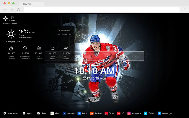 Montreal Canadiens NHL HD New Tabs Theme